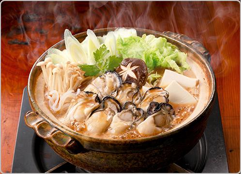 広島の郷土料理 牡蠣の土手鍋