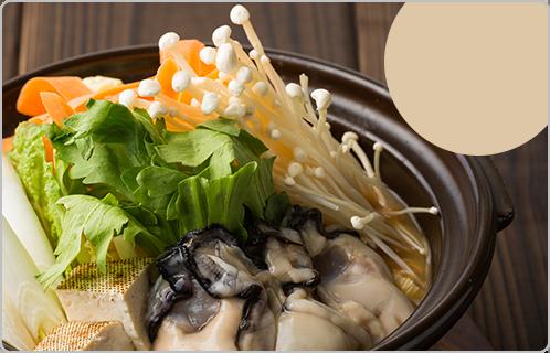 ますきちのおいしい牡蠣の土手鍋