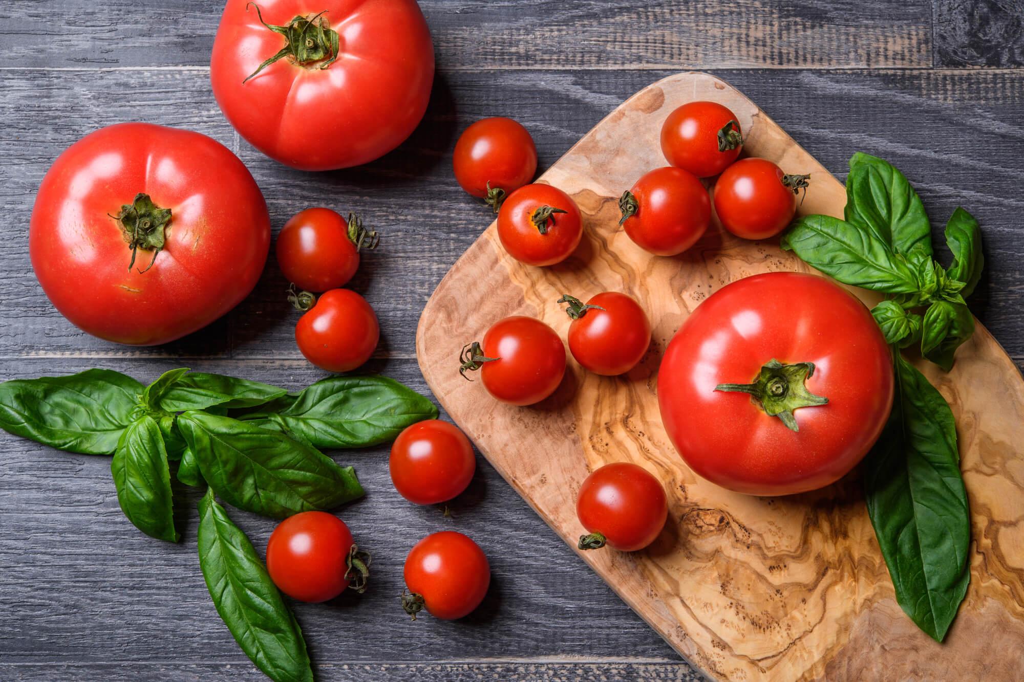 イタリアンなトマト冷や汁